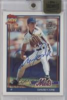 David Cone (1991 Topps) /25 [ENCASED]
