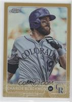 Charlie Blackmon /50