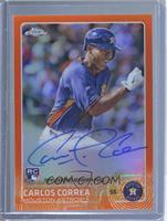 2016 Topps Chrome Update - Carlos Correa /25
