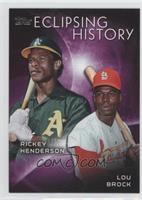 Lou Brock, Rickey Henderson