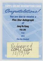 Jung-Ho Kang [REDEMPTIONBeingRedeemed]