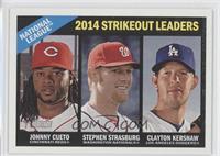 Clayton Kershaw, Johnny Cueto, Stephen Strasburg