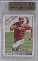 Mike Trout (Action Image Variation) [BGS 9.5]