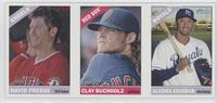 David Freese, Clay Buchholz, Alcides Escobar