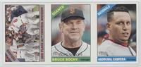 Cleveland Indians Team, Bruce Bochy, Asdrubal Cabrera