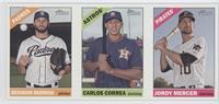 Brandon Morrow, Carlos Correa, Jordy Mercer