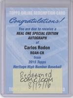 Carlos Rodon /66 [REDEMPTION Being Redeemed]