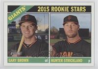 Gary Brown, Hunter Strickland