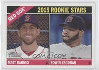 Edwin Escobar, Matt Barnes