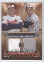Manny Machado , Cal Ripken Jr.  /50