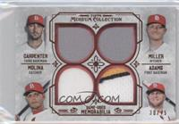 Matt Adams, Yadier Molina, Matt Carpenter, Shelby Miller /75