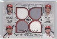 Matt Adams, Yadier Molina, Matt Carpenter, Shelby Miller /99