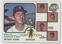 Billy Martin, Charlie Silvera, Dick Tracewski, Art Fowler [Good to VG…