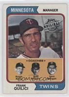 Frank Quilici, Ralph Rowe, Bob Rodgers, Vern Morgan [GoodtoVG&#8209…