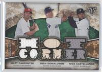 Nick Castellanos, Josh Donaldson, Matt Carpenter /18