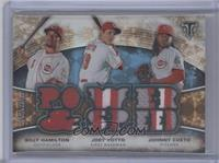 Joey Votto, Johnny Cueto, Billy Hamilton /3