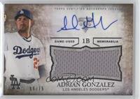 Adrian Gonzalez /75