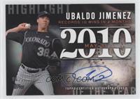 Ubaldo Jimenez /25