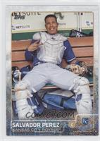 Salvador Perez (In Catcher's Gear)