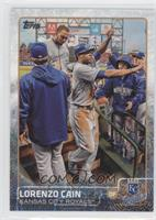 Lorenzo Cain (High-Fives)