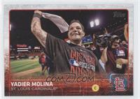 Yadier Molina (Celebrating)
