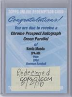Kenta Maeda /99 [REDEMPTION Being Redeemed]