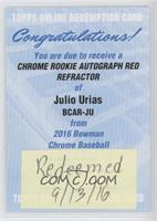 Julio Urias /5 [REDEMPTION Being Redeemed]