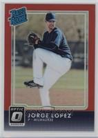 Rated Rookies - Jorge Lopez /99