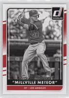 Mike Trout (Millville Meteor - B/W Photo)