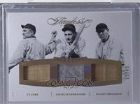 Charlie Gehringer, Harry Heilmann, Ty Cobb /10