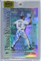 Wade Boggs (2000 Topps Finest - Finest Moments) /1 [ENCASED]