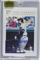 Jose Canseco (2000 Topps Gallery) /51 [ENCASED]