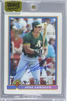 Jose Canseco (1991 Bowman) /11 [ENCASED]