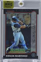Edgar Martinez (1999 Bowman Chrome) /5 [ENCASED]
