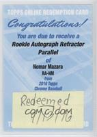 Nomar Mazara /499 [REDEMPTION Being Redeemed]