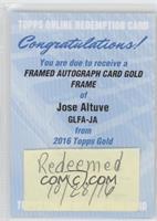 Jose Altuve [REDEMPTIONBeingRedeemed]
