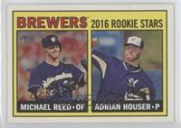 Rookies Stars - Adrian Houser, Michael Reed