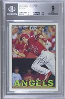 Mike Trout (Action Image Variation) [BGS 9]