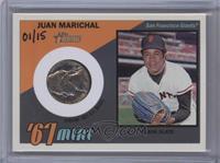 Juan Marichal /15