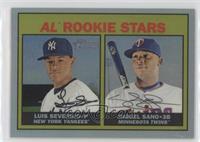 Rookie Stars - Miguel Sano, Luis Severino /567