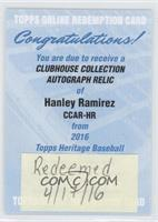 Hanley Ramirez /25 [REDEMPTION Being Redeemed]