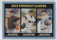 Strikeout Leaders - Jose Berrios, Sean Newcomb, Jaime Schultz (Strikeout Leader…