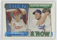 Clayton Kershaw, Jim Bunning