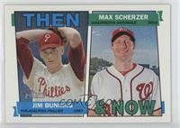 Jim Bunning, Max Scherzer
