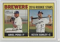 Rookies Stars - Ariel Pena, Nevin Ashley