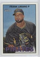 Francisco Liriano (Error Variation: Frank Liriano on Front)