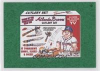 Atlanta Braves Cutlery Set