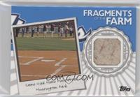 Game-Used Home Plate from Huntington Park