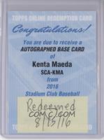 Kenta Maeda [REDEMPTIONBeingRedeemed]