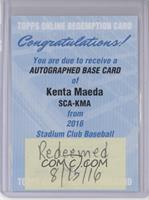 Kenta Maeda [REDEMPTION Being Redeemed]
